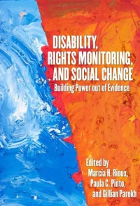 "Lançamento do livro ""Disability, Rights Monitoring, and Social Change"""